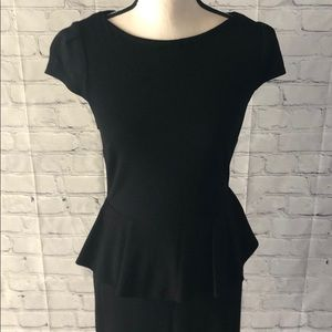 Boston Proper Dresses - EUC LBD with Peplum